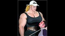 Female bodybuilding fbb bodybuilder bbw femdom 5 min