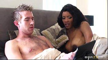 Ebony fucked by white guy - Brazzers.com porn 32 min