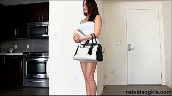 Cute Asian amateur gets roped into 3way