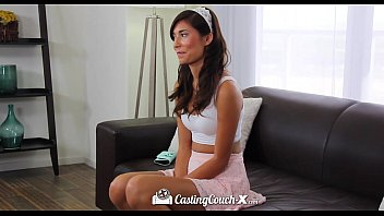 HD CastingCouch-X - Hot exotic teen Kimberly Costa climbs on dick