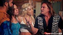 Carmen Caliente and Aidra Fox swap husbands in group sex