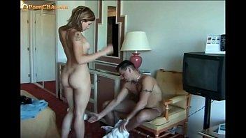 Czech anal in hotel