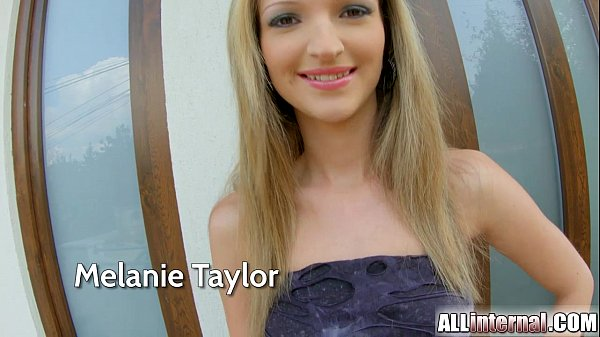 All Internal Anal creampie for petite blonde