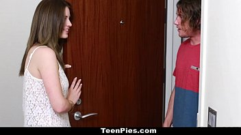 TeenPies - Teen (Delilah Blue) Gets Creampied By Her Mom's BF