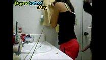 cogiendo en el baño