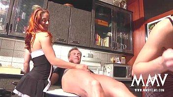 MMV FILMS Hot German babes in the kitchen