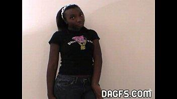 Danielle Luv ebony teen tryout 25 min