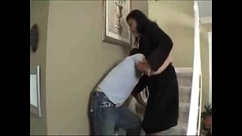Mother fucks her d. son, and gets creampied 11 min