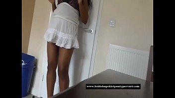 The British Upskirt Panty Pervert visits Michelle from Birmingham