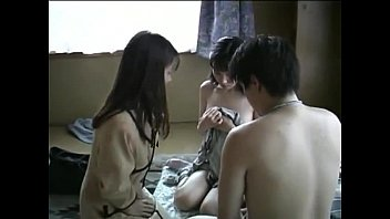 Japanese family threesome (uncensored) 12 min