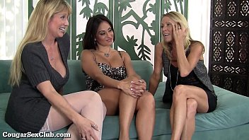 3 Stacked Horny MILFs Love Being Slutty Together! 7 min