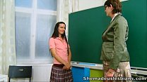 She Made Us Lesbians - Olya and her sweet young sexy schoolmate