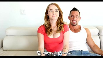 MyVeryFirstTime - Redhead Leigh Rose gets ready for first anal with facial