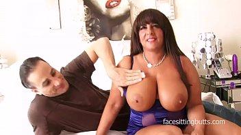 Chubby milf with awesome tits fucks her horny boyfriend