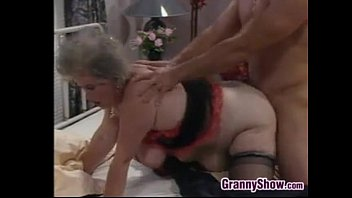 Fat European Granny And A Stud Fucking