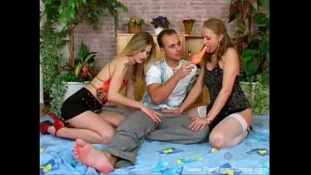 Two Girls One Guy Czech 3some 27 min