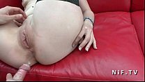 Amateur french maturewith small tits anal pounded outdoor on a sofa 6 min