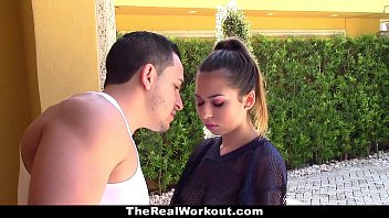 TheReaLWorkout - Slutty Brunette (Melissa Moore) Gets Fucked To Make The Team
