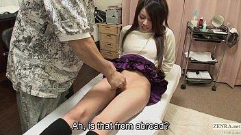 Uncensored bizarre Japanese pubic shaving salon Subtitled 5 min