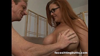 Guy fucks his new busty redhead step mom
