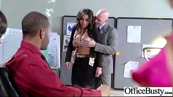 Sex In Office With Busty Slut Nasty Girl video-30
