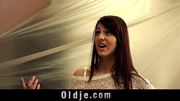 Old man and young tall girl sex play 6 min