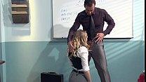 Kagney Linn Karter Horny For Italian Teacher's Cock