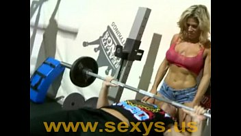 Muscle girl naked 12 min
