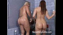 Two horny teens attack the plumber