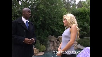 Fired up blonde anal queen rides it hard