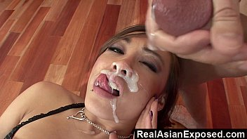 RealAsianExposed - Ariel Rose Receives a Massive Load On The Face