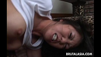 Busty Asian bimbo gets ass fucked by the stud 8 min