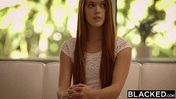 BLACKED Redhead Kimberly Brix First Big Black Cock 11 min