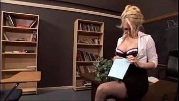 Sexy blonde teacher fucked - FacialxVideos.com