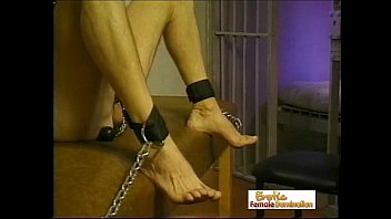 Slave Loses Half Of His Hair In A Session