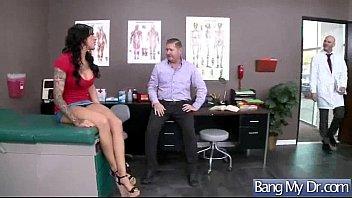 Hot Sex In Doctor Cabinet With Slut Patient vid-02