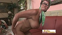 Hot granny is always in the mood for a hardcore fuck 30 min