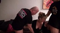 French mature Marina tries gangbang More on: 18CAMS.CO