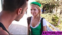 Alina West gets her cookie eaten out 6 min