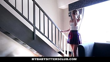MyBabySitters - Cute Young Babysitter (Iggy Amore) Fucks Dad