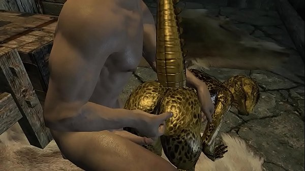 The female Argonian and Demis Episode 1 17 min