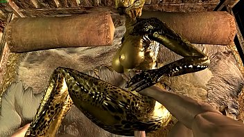 The female Argonian and Demis Episode 2 12 min