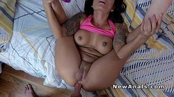 Hot Latina girlfriend does anal sex