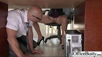 Office Slut Girl (lela star) With Big Tits Love Hard Bang clip-23