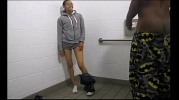 Black twins fuck in a fastfood restroom - Watch More Vidz Like This At Fxvidz.net