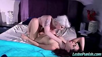 (indigo&jenna) Hot Girl Meet Mean Lesbo And Get Hard Sex Punishment video-22 5 min