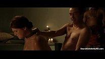 Lucy Lawless Lesley-Ann Brandt Laura Surrich in Spartacus 2010-2013 2 min