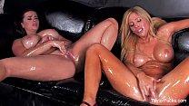 Taylor Vixen Lesbian b. Oil Fun