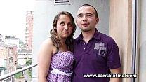 Real colombian amateur couple 15 min