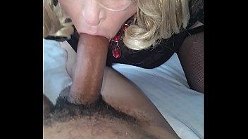 Sissy bj with cumshot 4 min